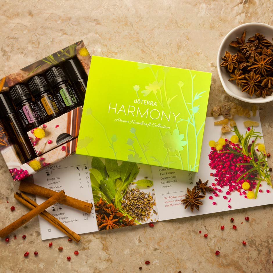 harmony collection doterra essential oils