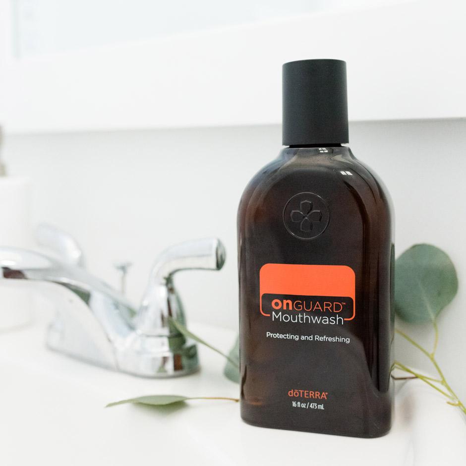 Using doTERRA On Guard Mouthwash | dōTERRA Essential Oils