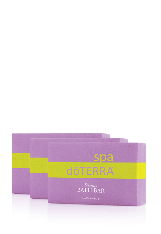dōTERRA Spa Serenity Bath Bar 3pk