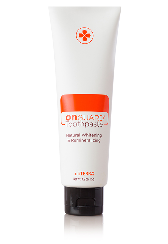 dōTERRA On Guard® Natural Whitening Toothpaste