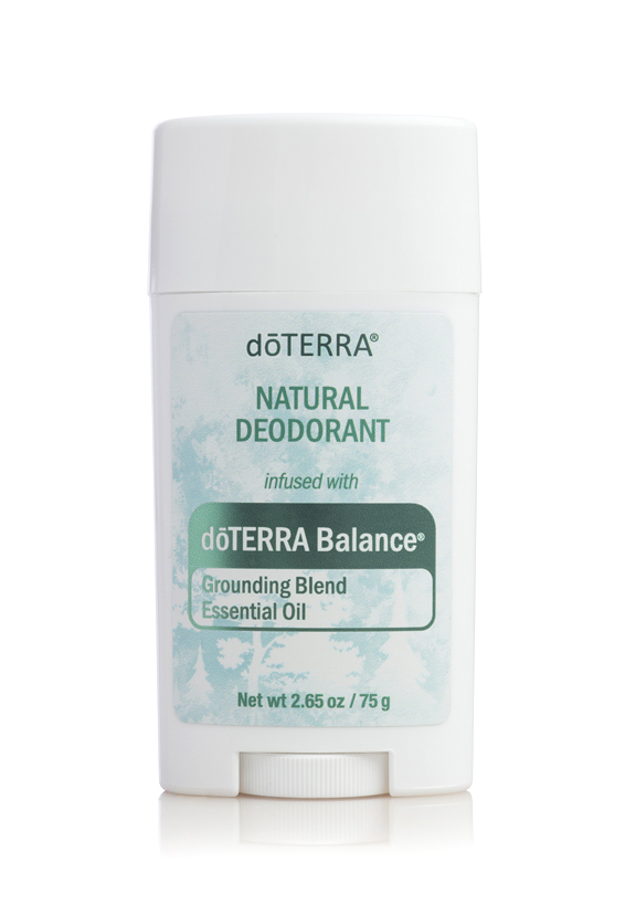 Natural Deodorant infused with dōTERRA Balance® Essential Oil