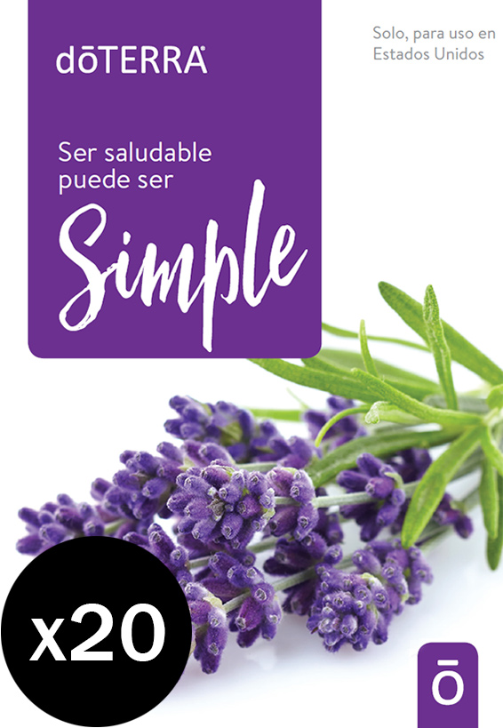 Healthy Can Be Simple (Spanish) 20pk