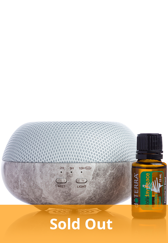 Brevi Stone with Holiday Peace 15 mL