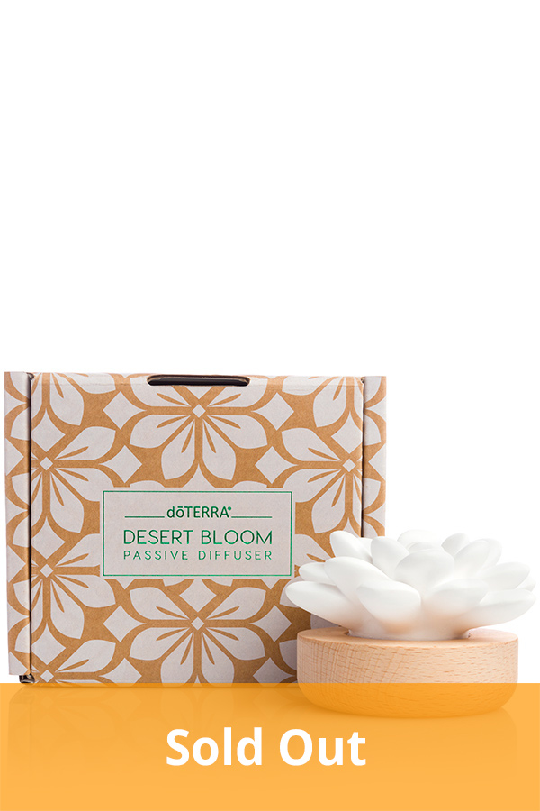 Desert Bloom Passive Diffuser with Box