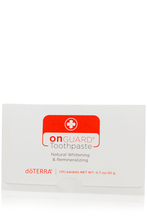 dōTERRA On Guard® Natural Whitening Toothpaste Samples