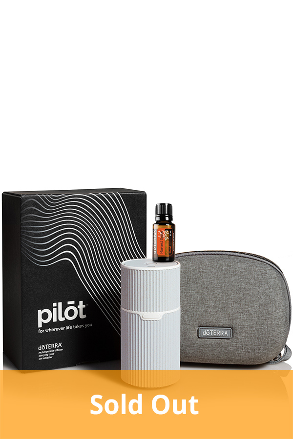 Pilot Diffuser and Harvest Spice 15 mL