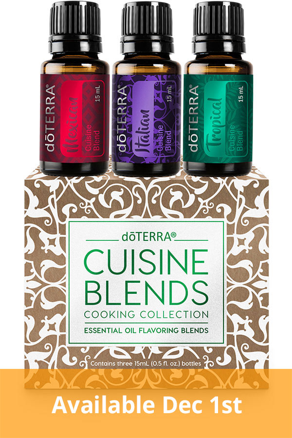 Cuisine Essential Oil Blend Collection