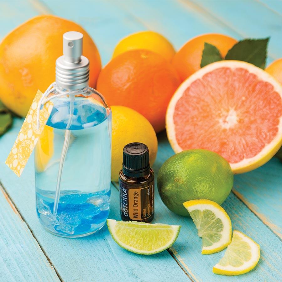 DIY Citrus Air Freshener DTERRA Essential Oils