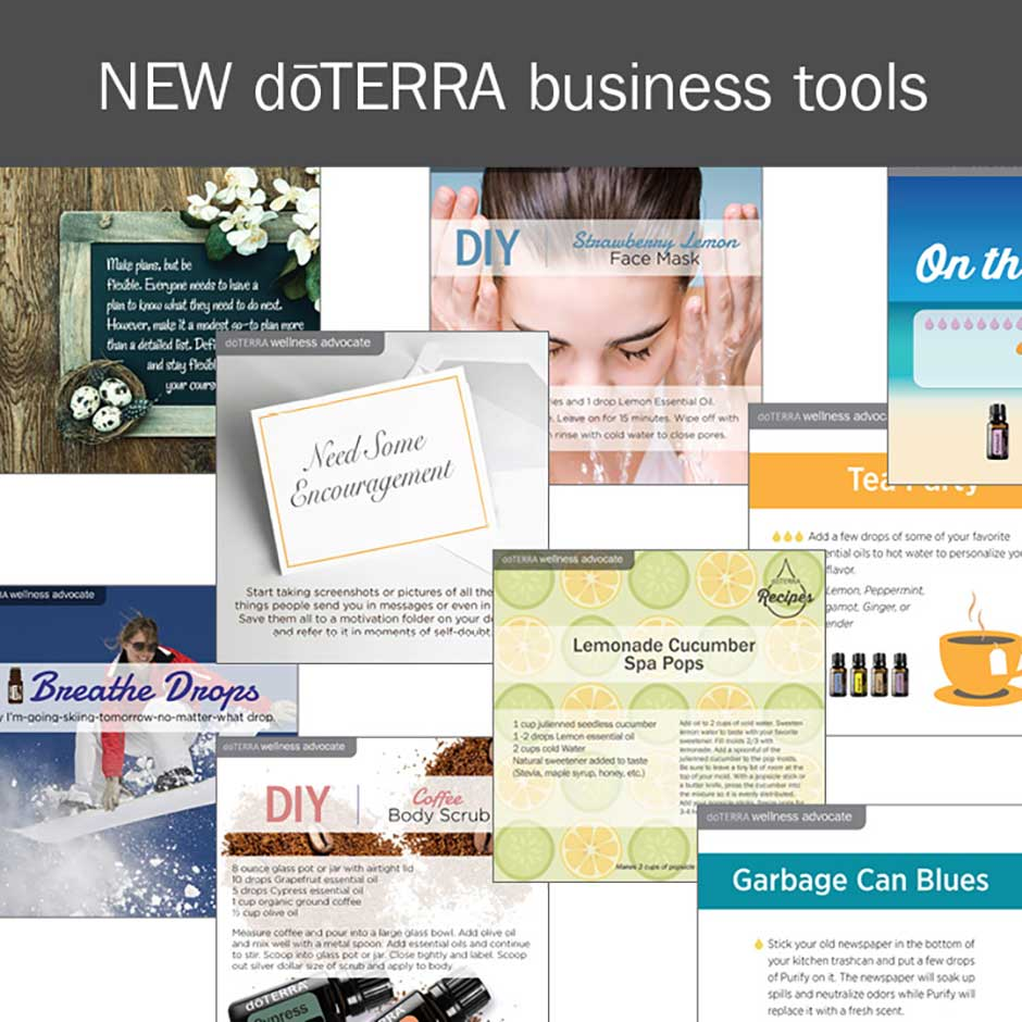 new doterra business tools