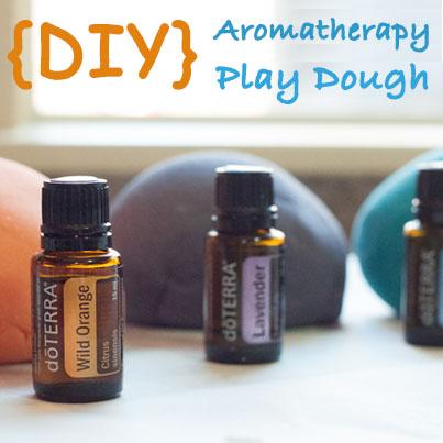 diy aromatherapy play dough d�terra essential oils