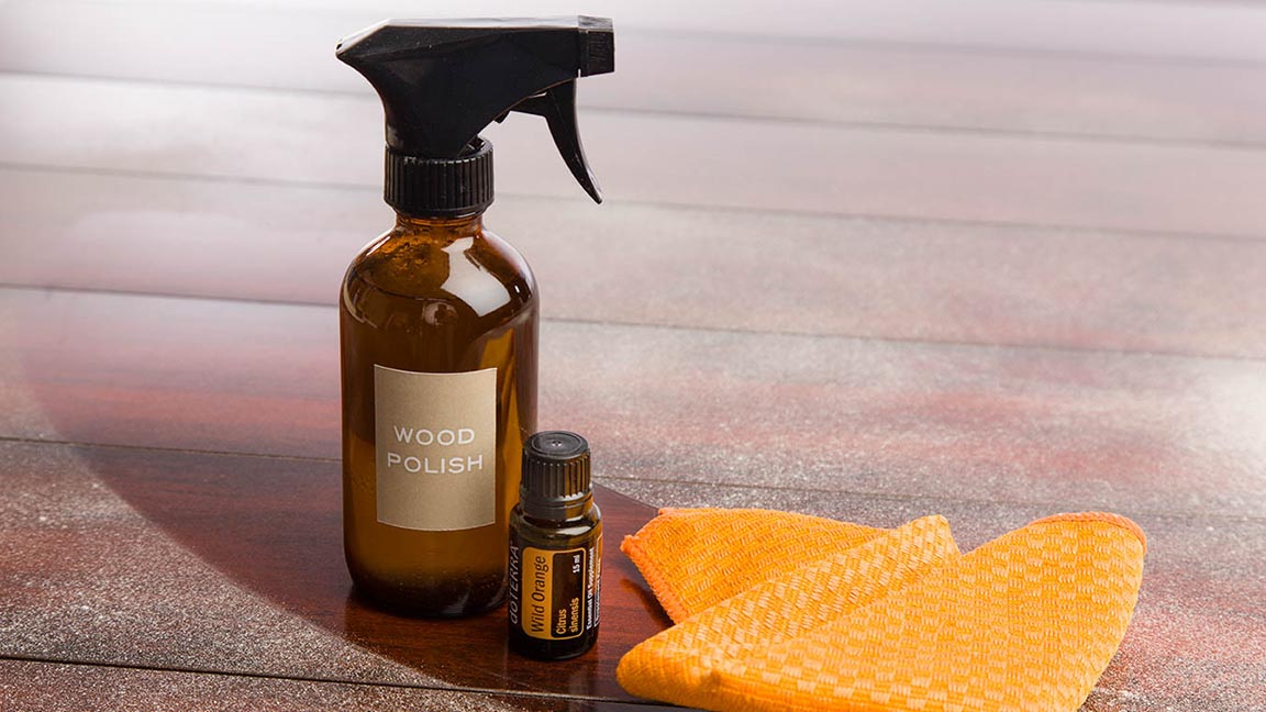 Diy Wood Polish Doterra Essential Oils Dōterra