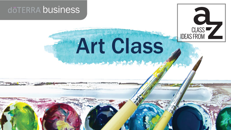 Whether Or Not You Consider Yourself An Artist Holding Art Class Involving Essential Oils Can Help Release Your Creative Side And Allow To Talk