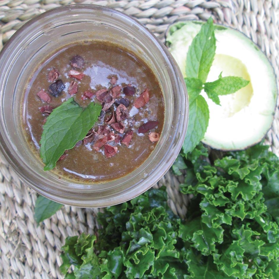 Chocolate Mint Maca Smoothie | doTERRA Essential Oils | dōTERRA ...