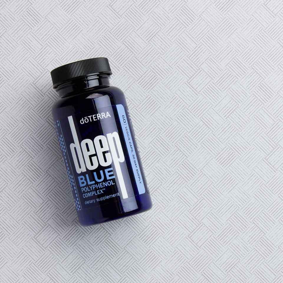 Product Spotlight Deep Blue Polyphenol Complex Dōterra Essential Oils