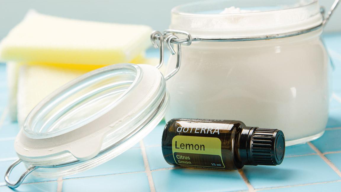 Diy soft scrub cleanser d terra essential oils - Diy bathroom cleaner essential oils ...