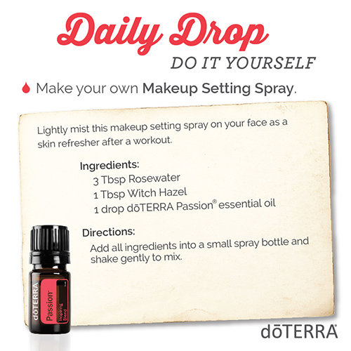 Diy makeup setting spray dterra essential oils diy makeup setting spray solutioingenieria Gallery
