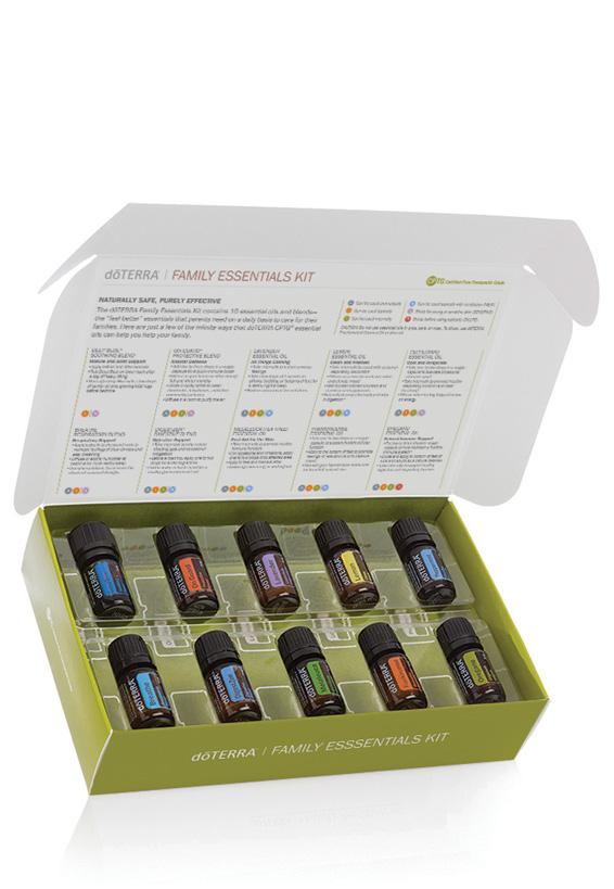 Afbeeldingsresultaat voor doterra family essentials kit